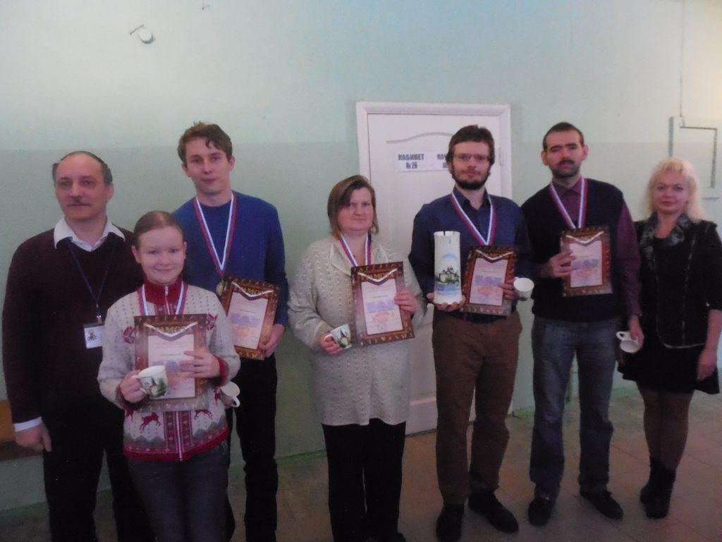 Команда Пскова - победитель командного чемпионата 2016